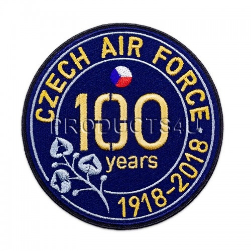 Patch - CZECH AIR FORCE 1918-2018