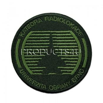 Nášivka UO, katedra radiologie, polní
