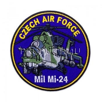Nášivka CAF - Mil Mi 24