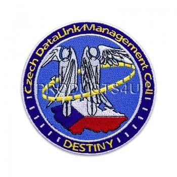 Nášivka Czech Datalink Management, barevná