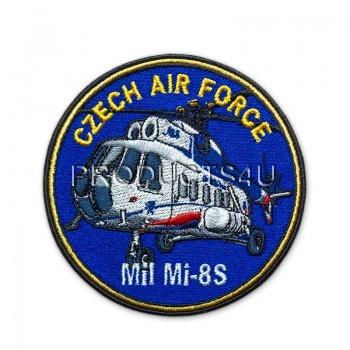 Nášivka CAF - Mil Mi 8S