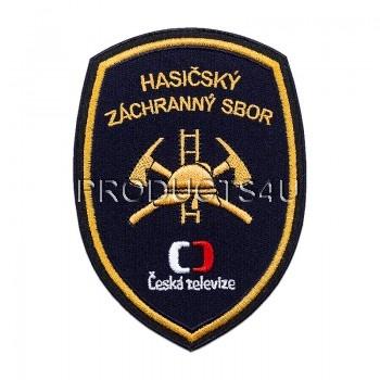 Nášivka HZS - Česká televize