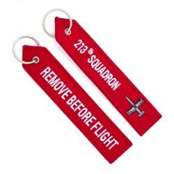 213th Squadron, Remove before flight