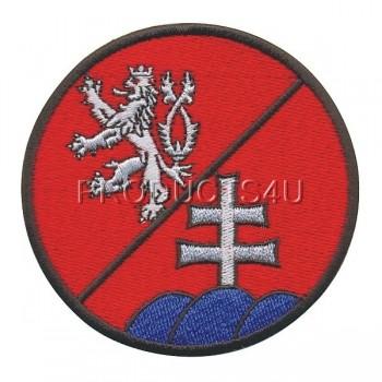 PATCH - ČR/SR BATTALION, standard colors