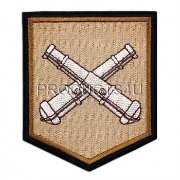 Nášivka 13. Dělostřelecký pluk, pouštn