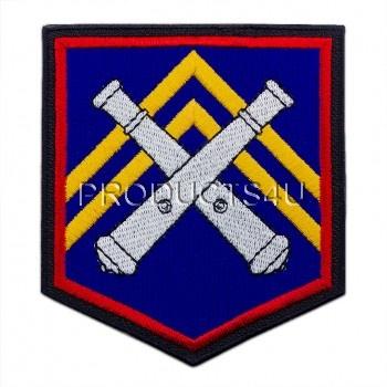 Nášivka 132. Dělostřelecký oddíl, barevná