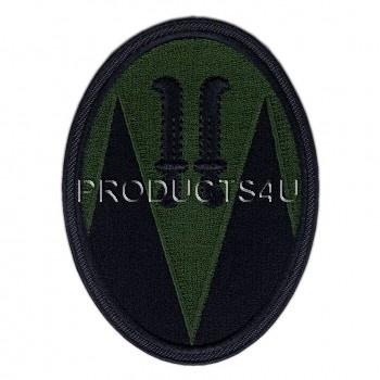 Nášivka Velitelství 7.Mechanizované brigády, polní