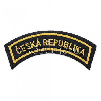 PATCH - ČESKÁ REPUBLIKA, woven