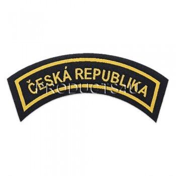 Nášivka Česká Republika, tkaná