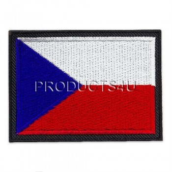 PATCH - FLAG OF THE CZECH REPUBLIC, large