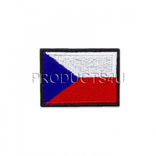PATCH - FLAG OF THE CZECH REPUBLIC, small