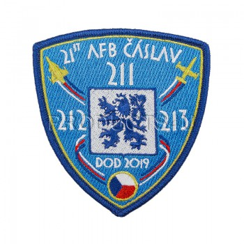 PATCH - DOD 2019 ČÁSLAV, standard colors