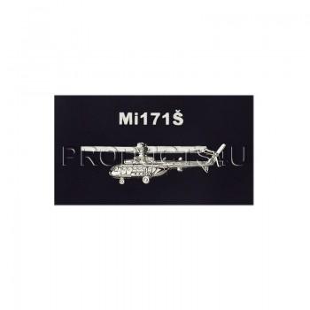 BADGE - Mi 171Š, silver