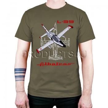 T-SHIRT - L-39 ALBATROS, khaki