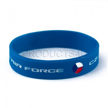 WRISTBAND - CZECH AIR FORCE, blue
