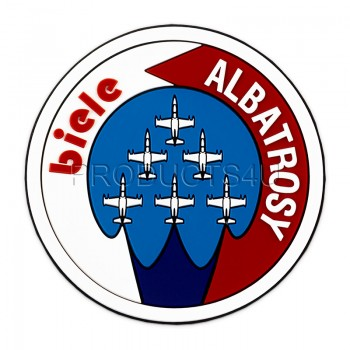 PATCH - WHITE ALBATROSSES, Pvc