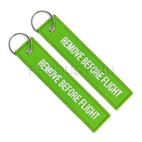 RBF - REMOVE BEFORE FLIGHT, green