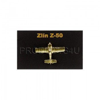 BADGE - ZLÍN Z-50, gold