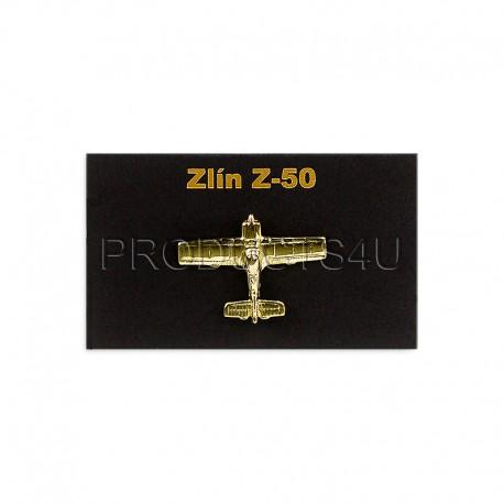 BADGE - ZLÍN Z-50, gold