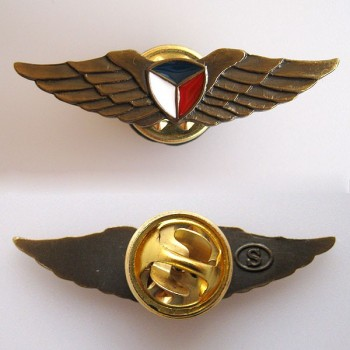 BADGE - PILOT WINGS, gold