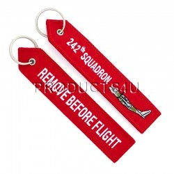 242th SQUADRON, REMOVE BEFORE FLIGHT