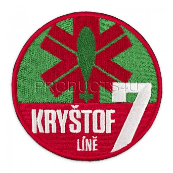 PATCH -  KRYŠTOF 7, LÍNĚ, standard colors
