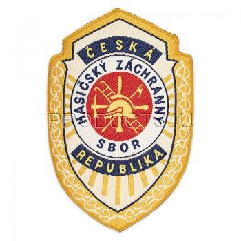 NÁŠIVKA - HZS ČESKÁ REPUBLIKA, původní, tkaná