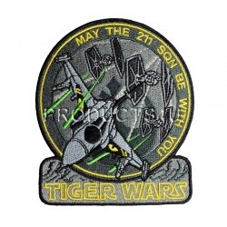 Nášivka - FAN211SQN COLLECTION - TIGER WARS