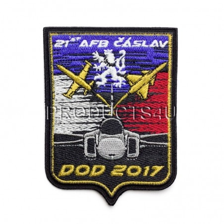 PATCH - FAN211SQN COLLECTION - DOD ČÁSLAV 2017