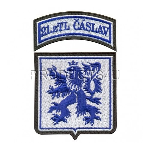 PATCH - 21. ZTL ČÁSLAV, Standard Colors