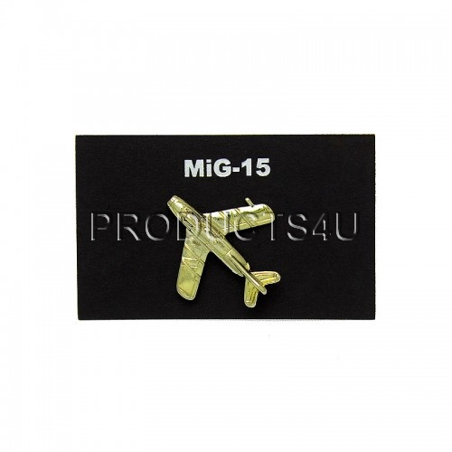 BADGE - MIG-15 - ZLATÝ