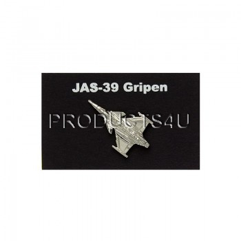 Odznak JAS-39 Gripen stříbrný