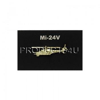 Odznak Mil Mi-24V zlatý