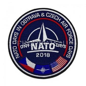 Nášivka NATO DAYS 2018, barevná