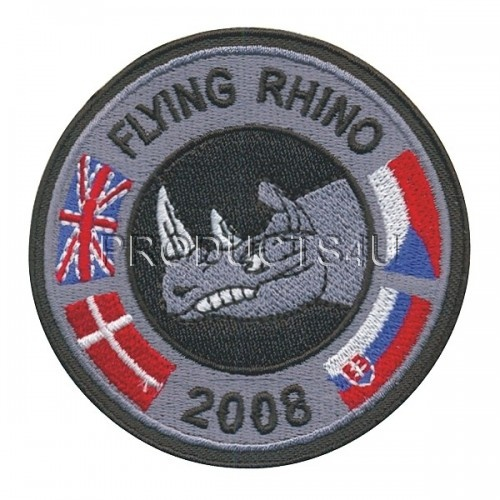Patch - Exercise Flying Rhino 2008