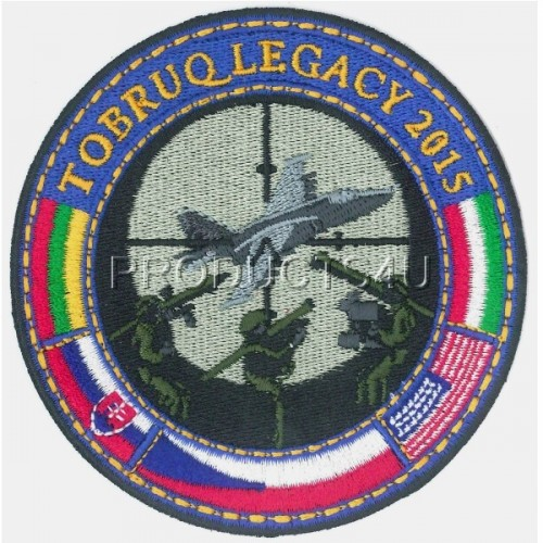 Patch - Exercise Tobruq Legacy II 2015