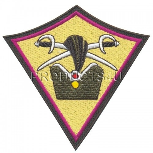 Patch - 71. Mechanizovaný prapor, standard colors