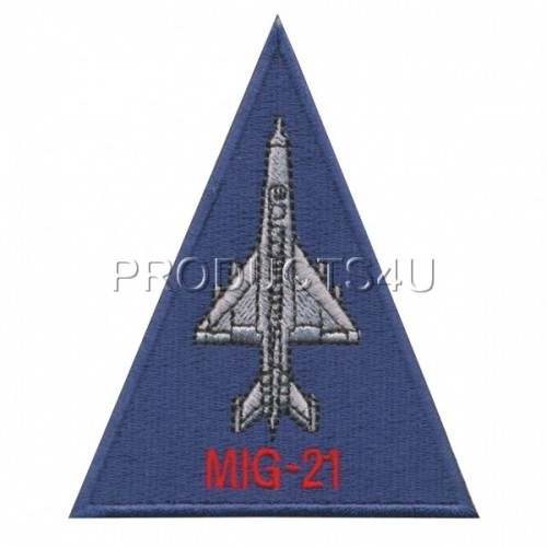Patch - MIG-21, standard colors