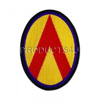 Nášivka 25. Protiletadlový pluk, barevná