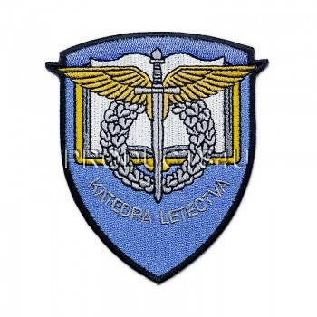 Nášivka Universita obrany, barevná