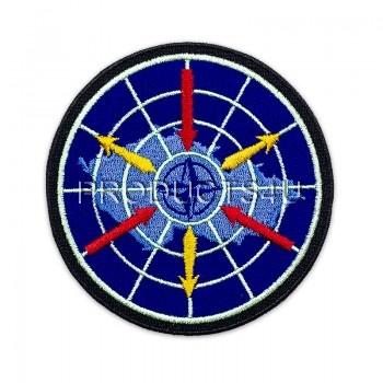Nášivka 26. Pluk velení, řízení a průzkumu, barevná