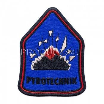PATCH -  PYROTECHNIC, standard colors