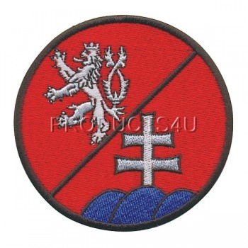 PATCH - ČR/SR BATTALION, standard colors