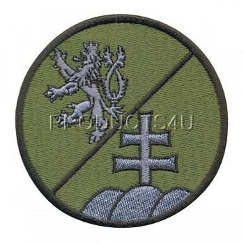 PATCH - ČR/SR BATTALION, swat