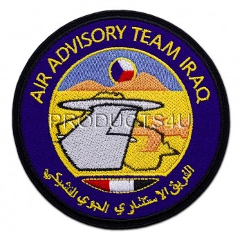 Nášivka Operace Resolute Iraq, barevná