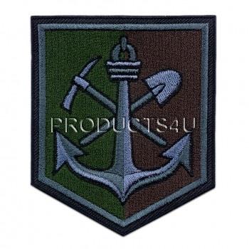Nášivka 15. Ženijní pluk, polní