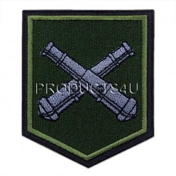 Nášivka 13. Dělostřelecký pluk, polní