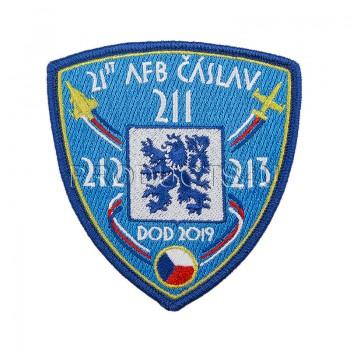 PATCH - DOD 2019 ČÁSLAV, standard colors