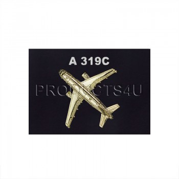 BADGE - A 319C, gold