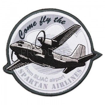 PATCH - SPARTAN AIRLINES/ FROM SLIAČ